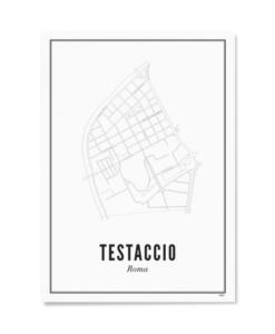 Poster Wijck 21x30 Rome-Testaccio