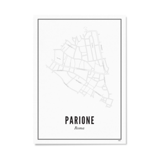 Poster Wijck 21x30 Rome-Parione