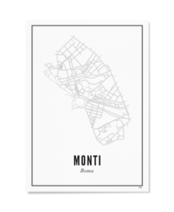 Poster Wijck 30x40 Rome-Monti