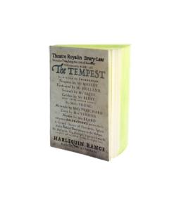 The Tempest Notebook Slow Design Libri Muti